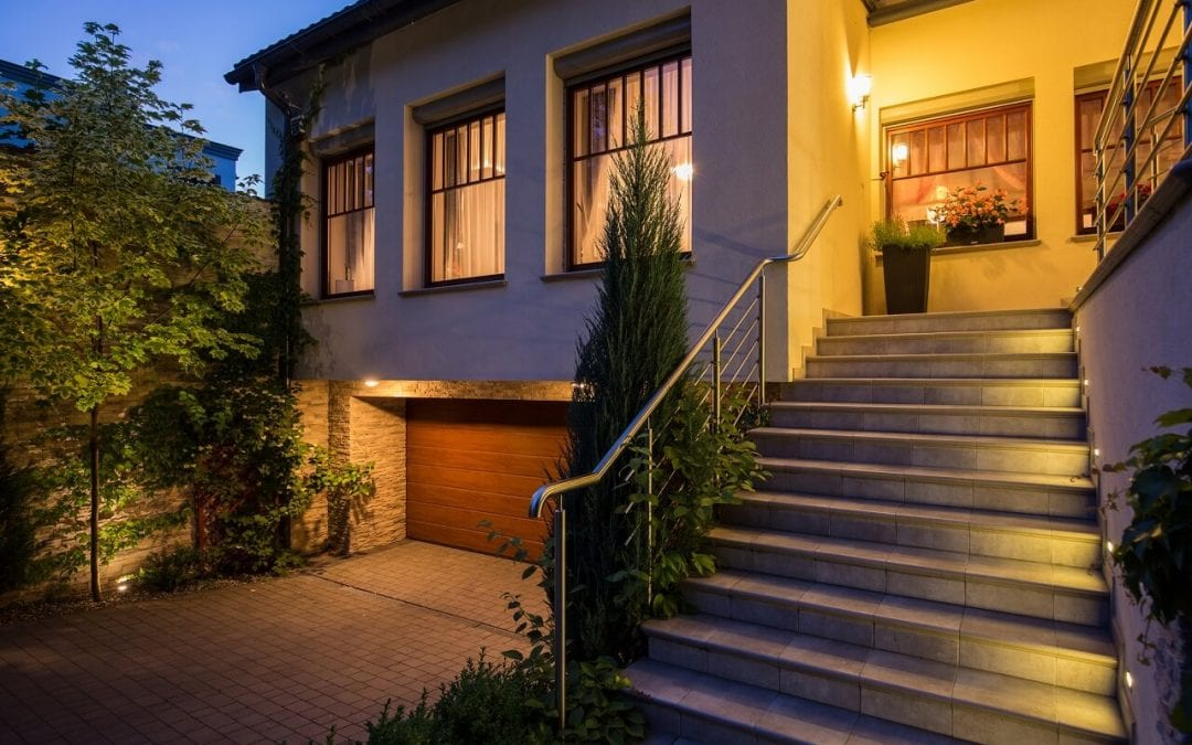 enhance home security with better lighting outdoors